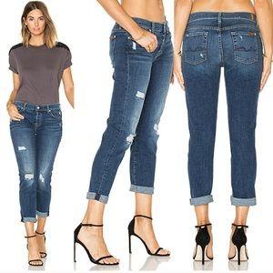 7FAM Josefina Skinny Boyfriend Jeans 29